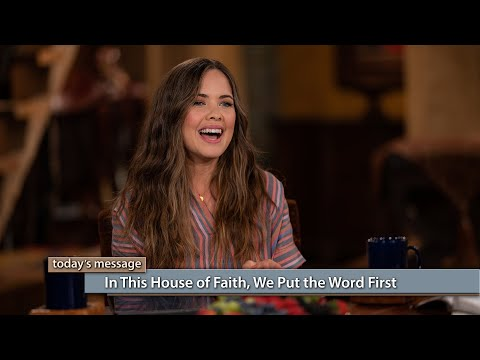 In This House of Faith, We Put the Word First