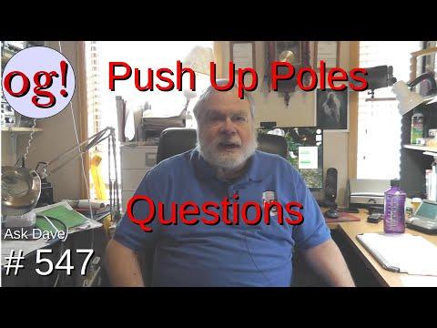 Push Up Poles Question (#547)