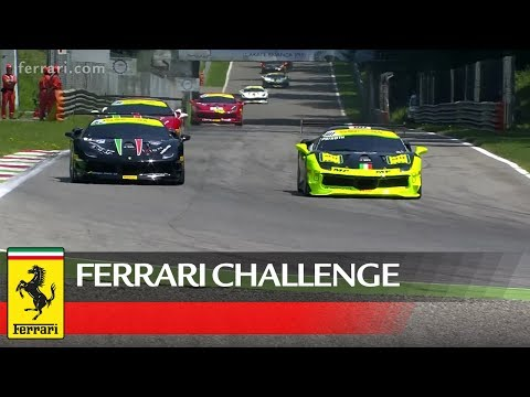 Ferrari Challenge Europe Coppa Shell at Monza
