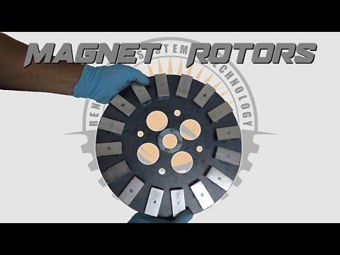 Making Wind Turbine Magnet Rotors - UCtrf6ZiE6hw3k77hGpnuQWg