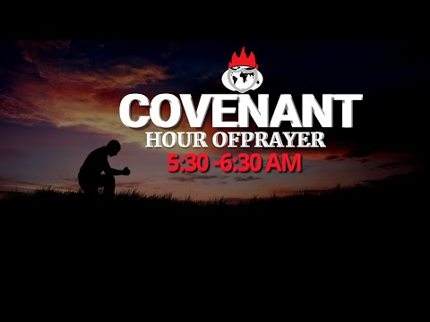 DOMI STREAM: COVENANT HOUR OF PRAYER   23, OCTOBER  2020