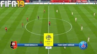 FIFA 19 | Rennes vs Paris Saint-Germain - Ligue 1 - Full Match & Gameplay