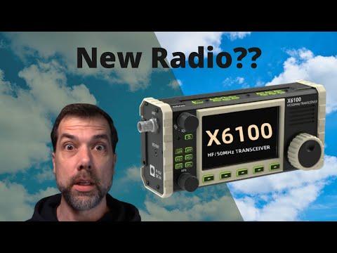 Xiegu X6100 Rumors - 705 Killer? Runs Linux? First Looks w/TO
