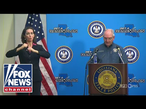 Live: Louisiana Governor holds Hurricane presser