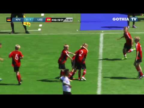 All the goals from B11 KFV SEGEBERG - LIZZY FOOTBALL CLUB in Gothia Finals 2016