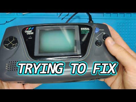 Tratando de reparar una game gear. ¿Resucitará?