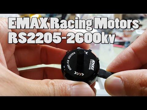 EMAX Racing Motors RS2205 2600kv - UCnJyFn_66GMfAbz1AW9MqbQ