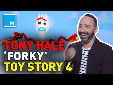 Tony Hale Talks 'Forky' And 'Toy Story 4'