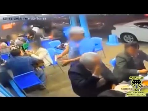 Armed Patron Ruins Armed Robbers Day   Active Self Protection