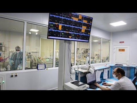 Súlyos a járványhelyzet Oroszországban