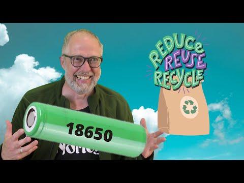 Recycling 18650 LiPo Batteries