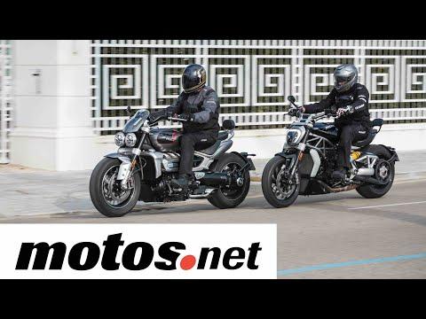Comparativo Ducati XDiavel 1260 S vs Triumph Rocket3 GT / Prueba / Review en español