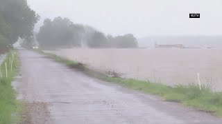 Barry prompts flooding in Mississippi