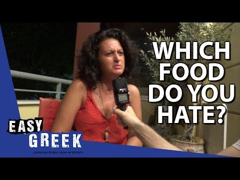 Which Greek food do you hate the most? | Easy Greek 41 photo