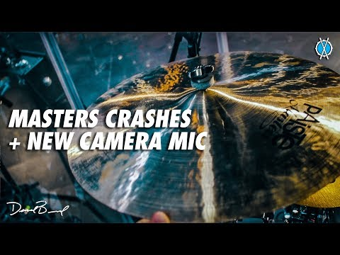 Masters Crashes + New Camera Mic // Drum Vlog