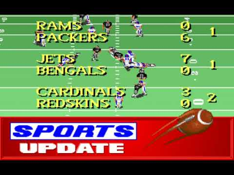 NFL Football (Week 1: Broncos - Raiders) (Distinctive Software) (MS-DOS) [1992] [PC Longplay]