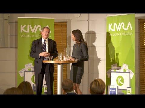 Cecilia Marlow &  Marcus Wallenberg - Kivras digitaliseringsmöte 2019