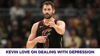 NBA star Kevin Love talks about dealing with depression