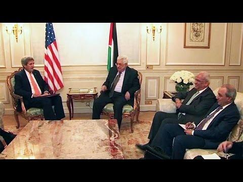 Conflit israélo-palestinien : Kerry et Abbas à Paris pour évoquer le processus de paix
