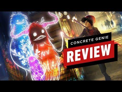 Concrete Genie Review - UCKy1dAqELo0zrOtPkf0eTMw
