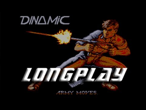 Army Moves (Commodore Amiga) Longplay
