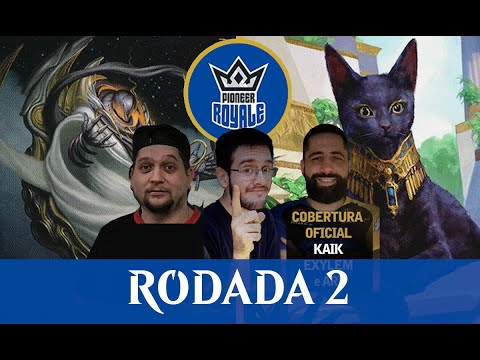 Azorious Spirits VS Selesnya Cats - Pioneer Royale - Narração ao vivo - Rodada 2