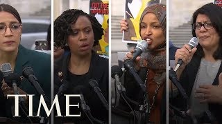 'Why Don't They Go Back': President Trump Tweets At Congresswomen Of Color | TIME