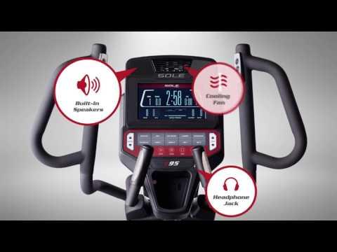 Crosstrainer - Sole Fitness E95 - BeterSport.nl