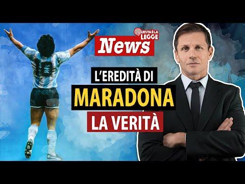 LA VERITÀ SULL'EREDITÀ DI MARADONA | avv. Angelo Greco