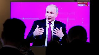 Putin's Q&A discusses living standards, MH17 and a dialogue with Trump