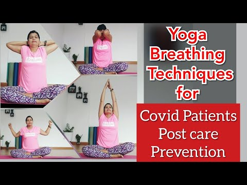 Yoga Breathing techniques for COVID-19 (Mild Symptoms), Post Care, Covid Prevention | Yoga for Lungs