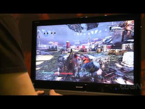 Gears of War 3: Gridiron Multiplayer Gameplay - PAX East 11 - UCKy1dAqELo0zrOtPkf0eTMw