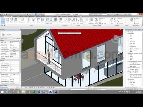 Mejore la calidad de las presentaciones con las texturas de REVIT