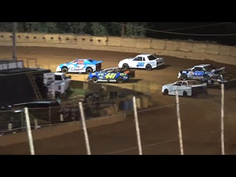 Stock 4a at Winder Barrow Speedway September 4th 2021 - dirt track racing video image