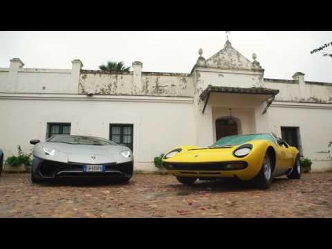 50° Anniversario per la Lamborghini Miura