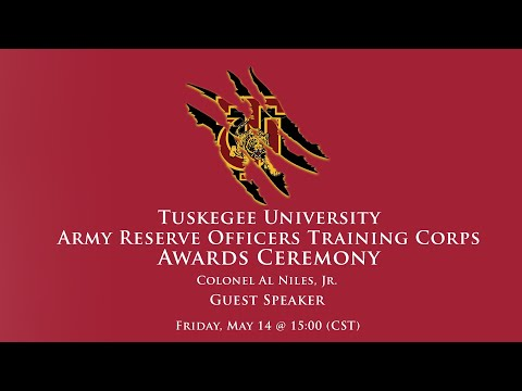 Tuskegee University Army Reserve Officers Training Corps Awards Ceremony