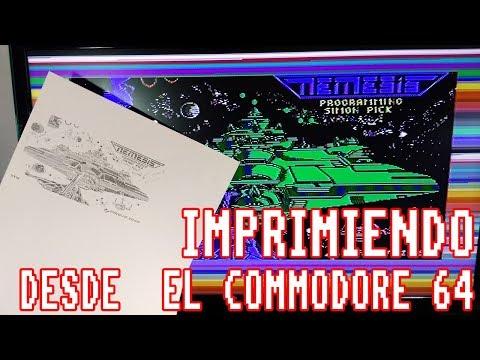 Imprimiendo pantallas de juegos desde el Commodore 64