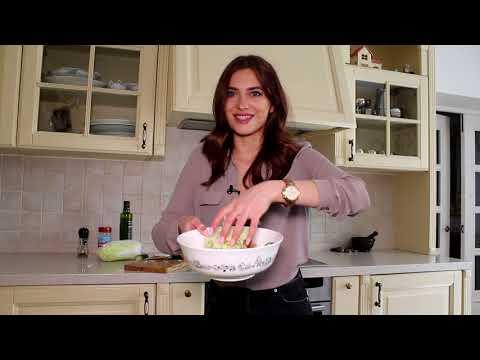 ПОЛЕЗНЫЙ салат на СКОРУЮ руку  Рецепт