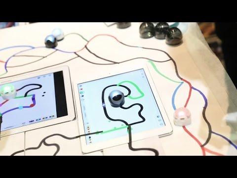 OzoBot Teaches Coding Through Drawing   CES 2015 - UCOmcA3f_RrH6b9NmcNa4tdg