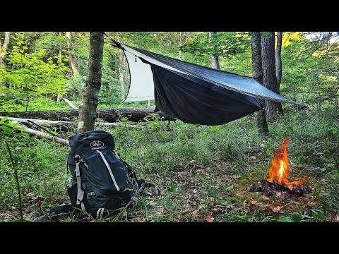 Solo Hammock Camping at Green Ridge Mountain
