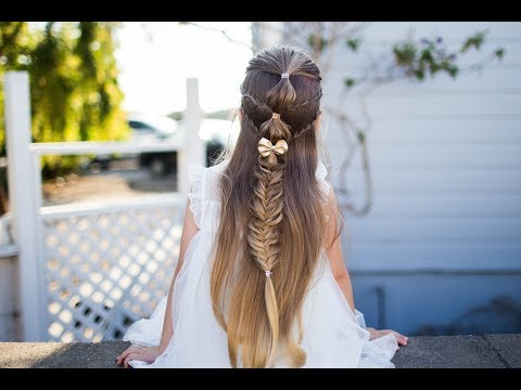 Micro Bubble Braid   Holiday Hairstyle   Cute Girls Hairstyles