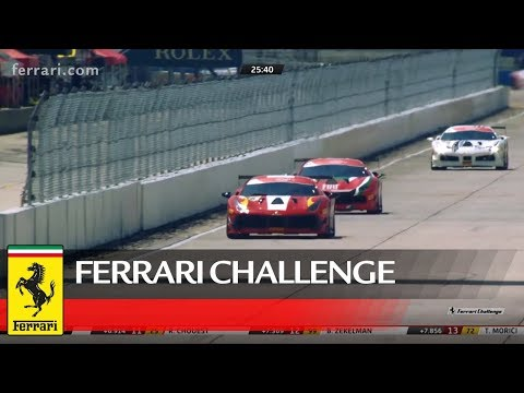 Ferrari Challenge North America - Sebring 2019, Trofeo Pirelli Race 1