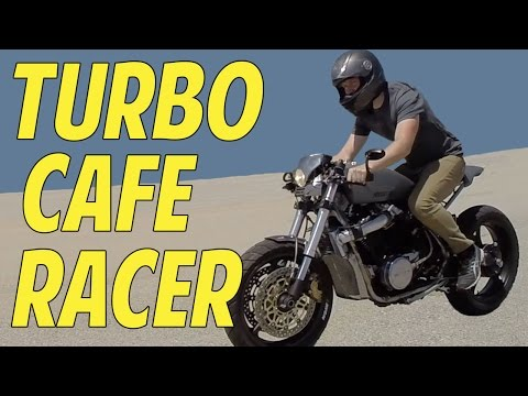 Turbocharged Cafe Racer Honda VT500 The One Moto Show