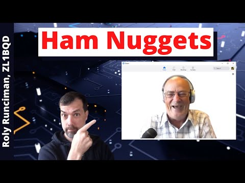 #98 Ham Nuggets Live! With Roly Runciman, ZL1BQD
