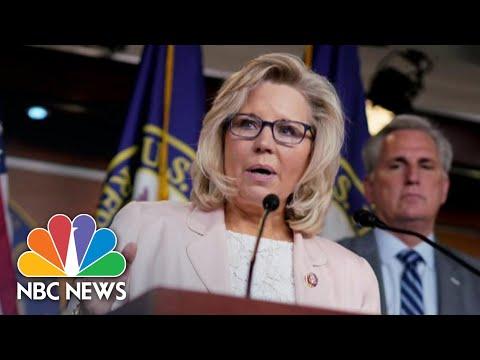 Rep. Liz Cheney Will Vote To Impeach President Trump | NBC News NOW