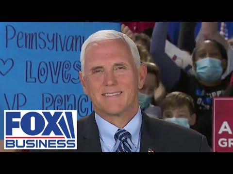 Mike Pence calls Big Tech censorship of NY Post an 'outrage'