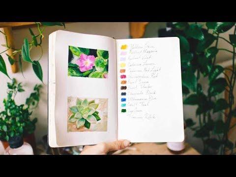 Plant Studies & Musings | Sketchbook Sunday #45