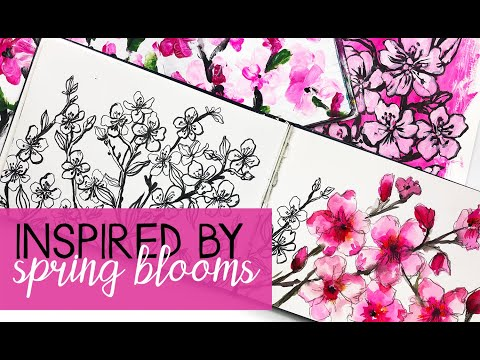 inspired by spring blooms