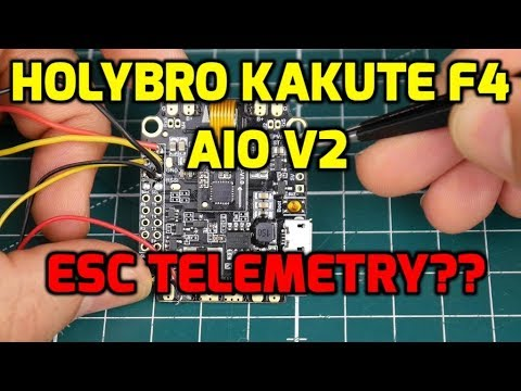 Holybro Kakute F4 AIO | BETAFLIGHT FLIGHT CONTROLLER REVIEW
