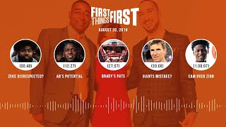 First Things First Audio Podcast(8.20.19) Cris Carter, Nick Wright, Jenna Wolfe   FIRST THINGS FIRST